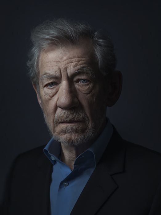 Sir Ian McKellen Rory Lewis Photographer